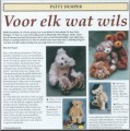 Artikel in de Teddy Beer