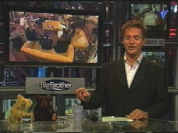 Rolf Wouters in the Big Brother studio